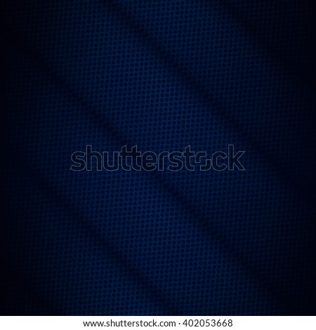 Abstract dark blue background for technology, business, computer or electronics products - stock photo