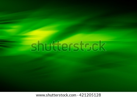 Abstract dark green background template, empty backdrop with space for elements - stock photo