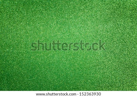 Abstract dark green glitter background - stock photo