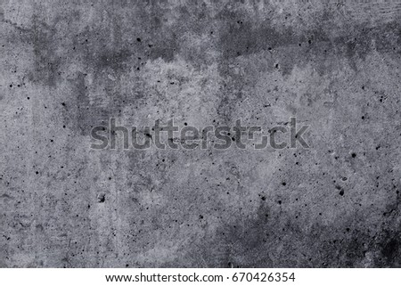 Abstract dark grunge concrete texture for background