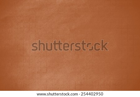 Abstract dark orange grunge technical background paper - stock photo