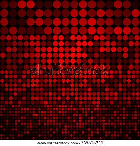 Abstract dark red circles seamless pattern background
