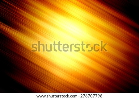 abstract dark spectrum gold yellow background - stock photo