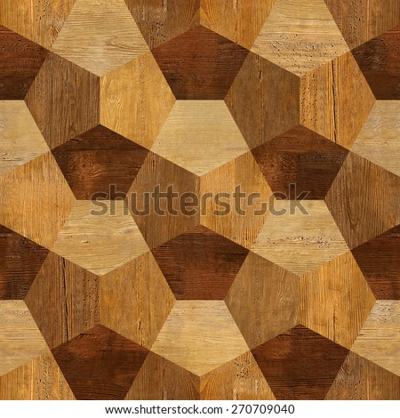 Abstract decorative blocks   Interior wall decor   decorative tiles    seamless background   wood texture. Abstract Paneling Pattern Interior Wall Decor Stock Illustration