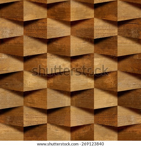 Abstract Decorative Bricks Wall Tiles Stock