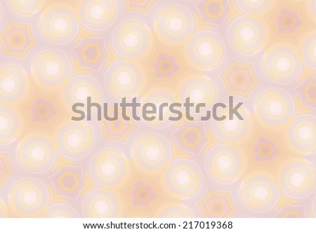 Abstract decorative circles background