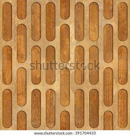 Abstract Decorative Grid Seamless Background Wood Stock Illustration