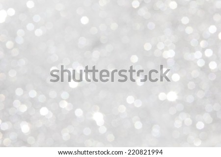 abstract defocused glitter sliver background - stock photo