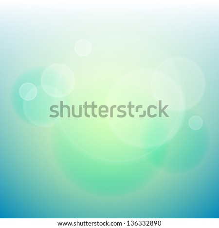 Abstract defocused lights background  - raster version - stock photo