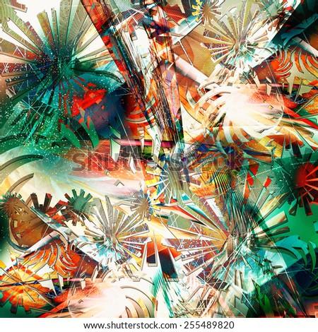 abstract design art - stock photo