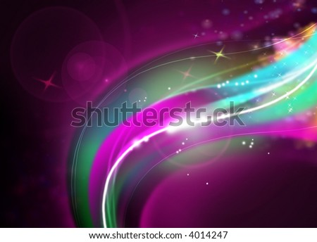 abstract design on dark background