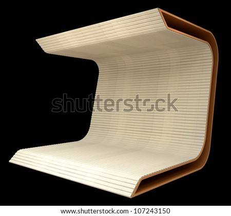 abstract design shape - stock photo