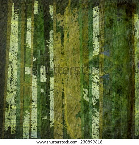 abstract design with wood grain texture - stock photo