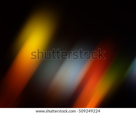 abstract diagonal colored light spots background blur