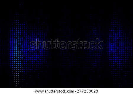 Abstract digital equalizer on blue background