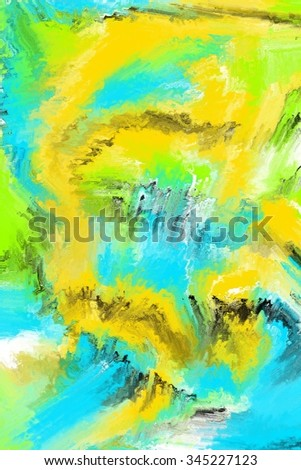 abstract digital painting art/abstract expressionism painting/abstract digital painting art