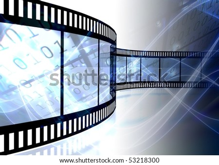 Abstract Digital photographic background - stock photo