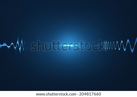 Related pictures of digital sound wave abstract musical inspired