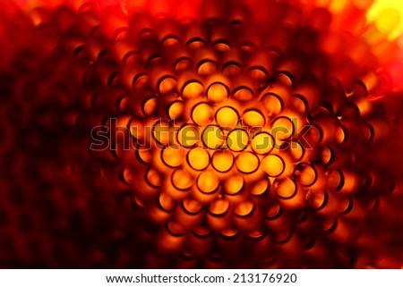 Abstract distortion circle pattern - stock photo