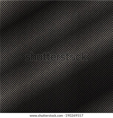 Abstract dotted seamless steel grunge background