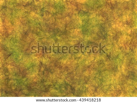 Abstract drawn grunge background in beige colors. Effect of crumpled paper. Horizontal banner. Series of Watercolor, Oil, Pastel, Chalk and Inc Backgrounds. - stock photo