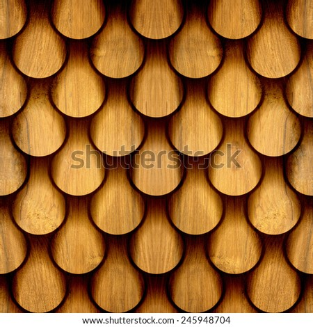 Abstract drops pattern - seamless background - wood texture - stock photo