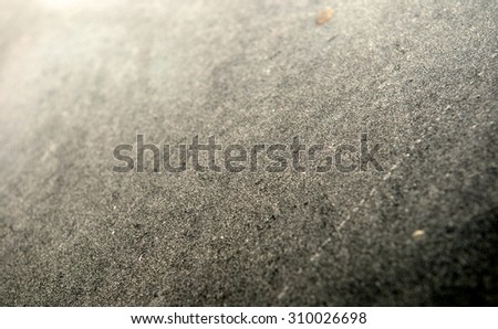 Abstract dust background. Dirty rear window of the car for inscription. View of mirror. Wash me car. Close up. - stock photo