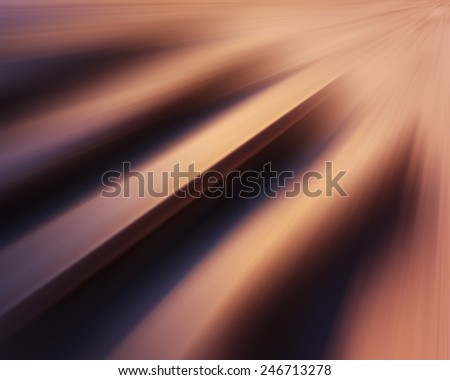 abstract dynamic composition color blur rays - stock photo