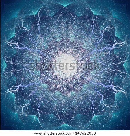 Abstract Electric - stock photo