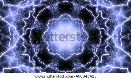 Abstract electrical background