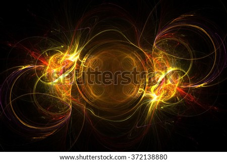 Abstract electromagnetic spark wallpaper