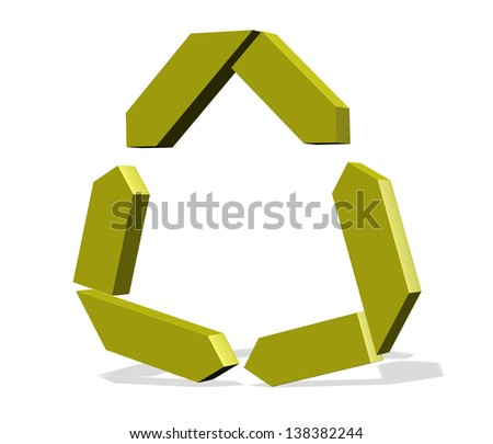 Abstract element logo idea - business brand identity illustration - stock photo