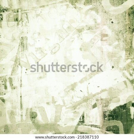 Abstract english letters and number as grunge background - stock photo
