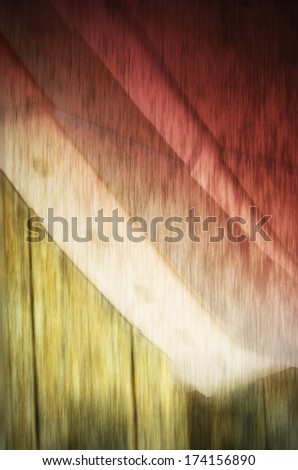 Abstract exterior space. Futuristic architecture. - stock photo