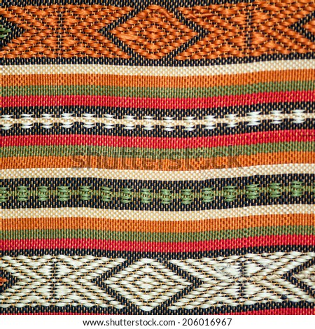 Abstract fabric texture, Thai traditional style