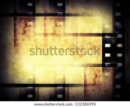 abstract film strip background, texture - stock photo