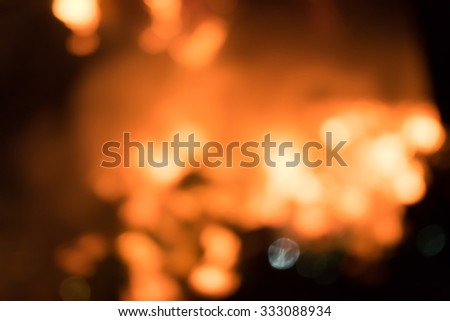 Abstract Fire Flame, Texture Background - stock photo