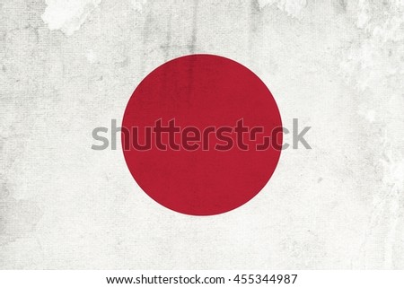 Abstract flag japan , illustrator , colors background