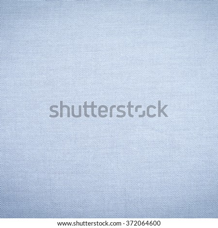 Abstract flat blue color fabric textile texture background:detail of plain burlap backdrop:rustic seamless pattern canvas structure clothing concept:sapphire color linen wallpaper picture:square frame - stock photo
