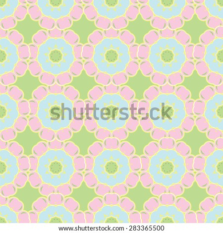 abstract floral background is a pattern Easter spring  - stock photo