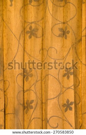 abstract floral pattern, fabric texture - stock photo