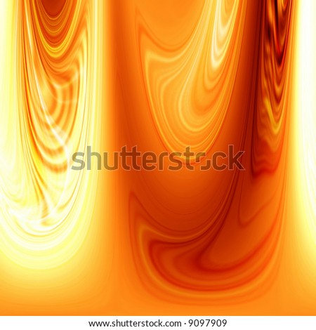 Abstract flowing fire background