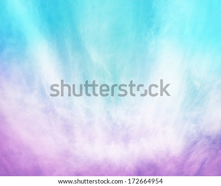 Abstract fog and clouds on a subtle paper background.  Image displays a pleasing paper grain and texture at 100 percent. - stock photo
