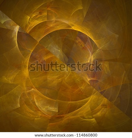 Abstract fractal background. Amber texture. - stock photo