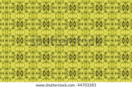 Abstract fractal background: asparagus - stock photo