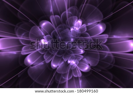 Abstract fractal background/flower blossom