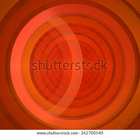 Abstract fractal background in red color with a detailed pattern of large interconnected rings - stock photo