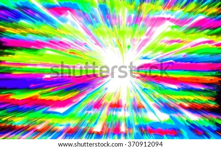 Abstract fractal  background. Magic illustration