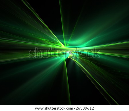 Abstract fractal background on black background