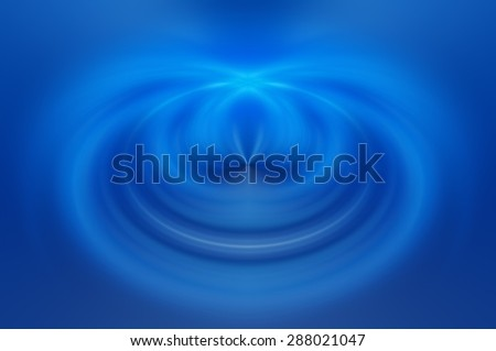 Abstract fractal blue background. Magic illustration